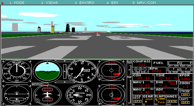 MS Flight Simulator 4 (1989)