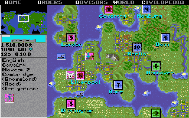 Sid Meier's Civilization (1991)