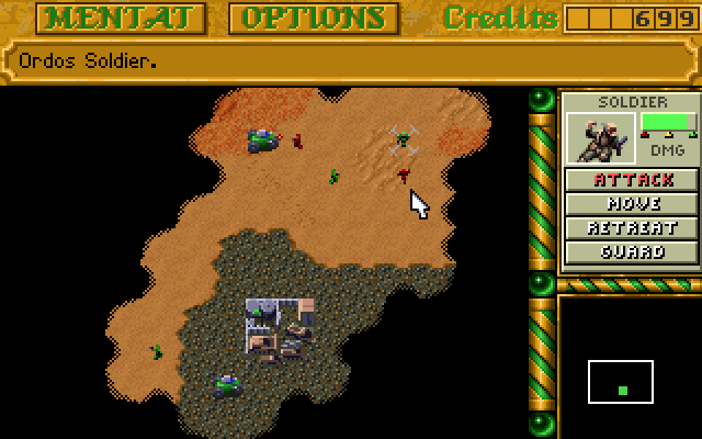 Dune II – Battle for Arrakis (1992)