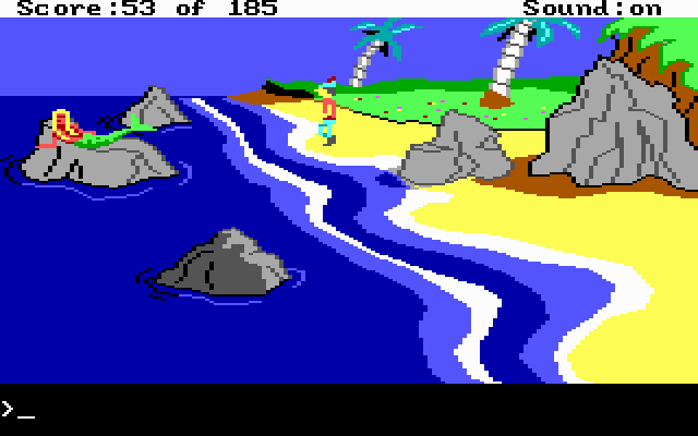 King's Quest II: Romancing the Throne (1985)