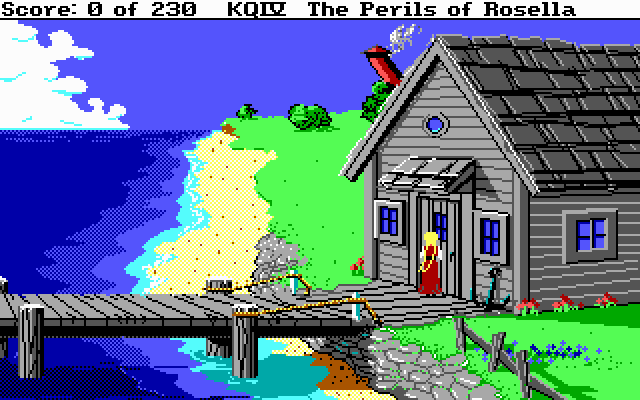 King's Quest IV: The Perils of Rosella (1988)