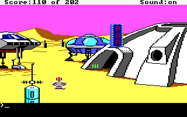 Space Quest: Chapter I – The Sarien Encounter (1986)