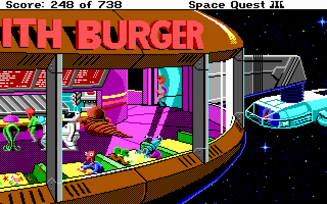 Space Quest III: The Pirates of Pestulon (1989)