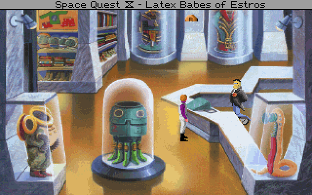 Space Quest IV: Roger Wilco and the Time Rippers (1991)