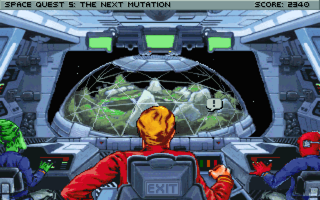 Space Quest V: Roger Wilco – The Next Mutation (1993)