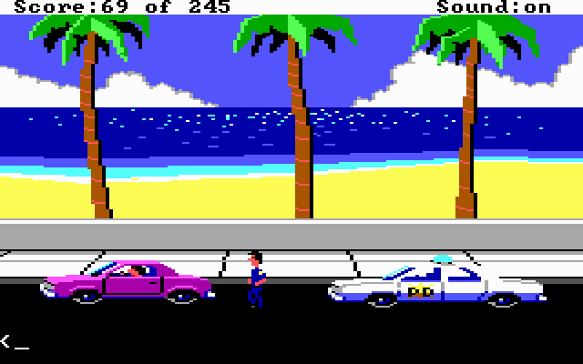 Police Quest: In Pursuit of the Death Angel (1987)