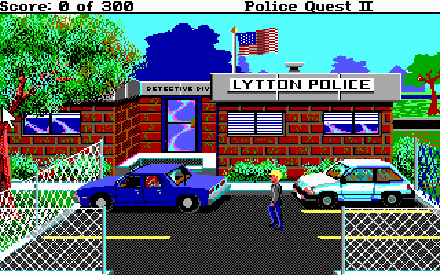Police Quest II: The Vengeance (1988)