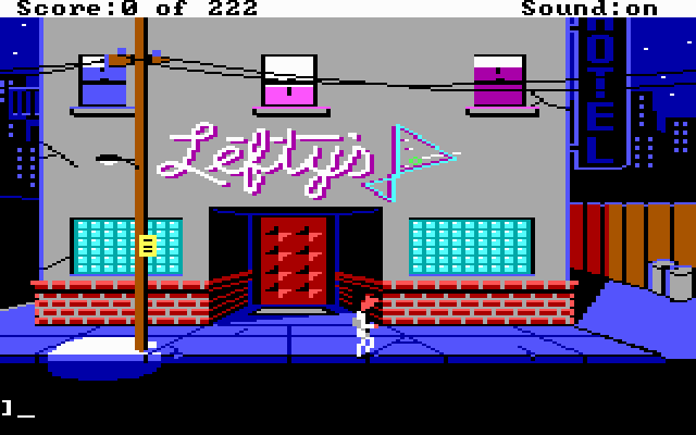 Leisure Suit Larry in the Land of the Lounge Lizards (1987)