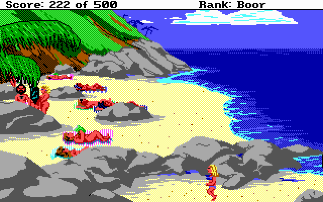 Leisure Suit Larry Goes Looking for Love (In Several Wrong Places) (1988)