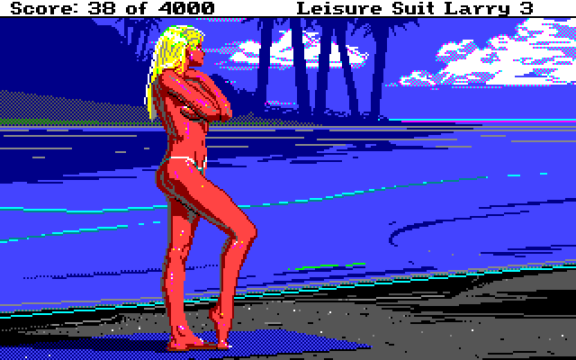 Leisure Suit Larry III: Passionate Patti in Pursuit of the Pulsating Pectorals (1989)