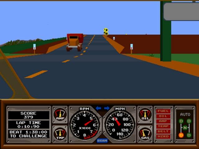 Hard Drivin' (1989)