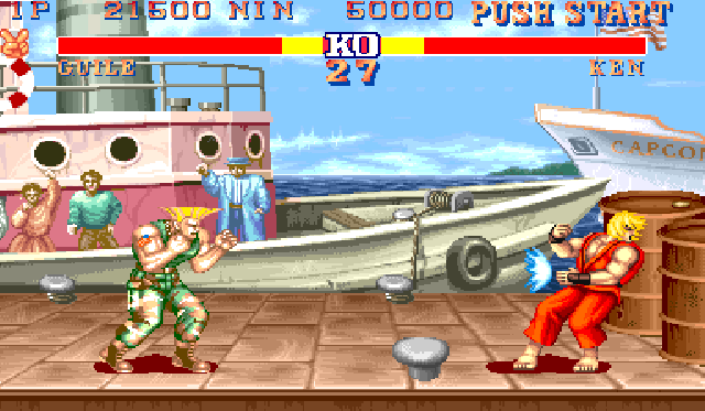 Street Fighter II: The World Warrior (1991)