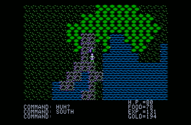 Ultima I: The First Age of Darkness (1981)