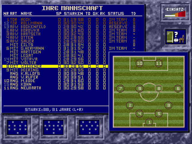 Bundesliga Manager Professional (1991)