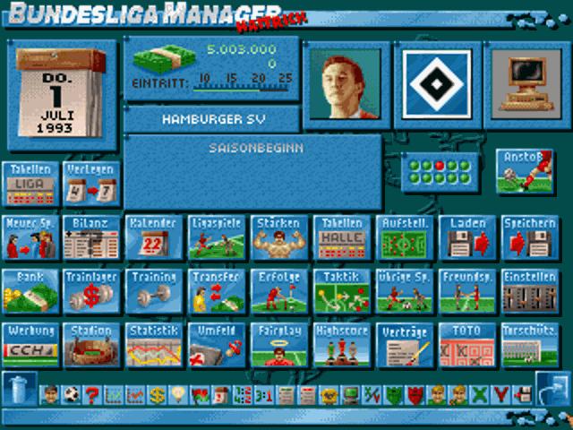 Bundesliga Manager Hattrick (1994)